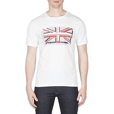 Picture of TEXTURED UNION PRINT TEE