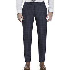 Picture of FLANNEL CHECK CAMDEN TROUSER