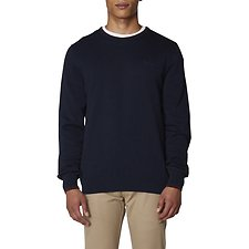 Image of Ben Sherman Australia NAVY TIPPED CREW NECK KNIT