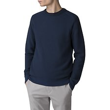 Picture of THE TEXTURED KNIT CREW NECK