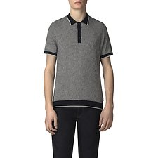Picture of THE DISTORTED ARGYLE POLO KNIT