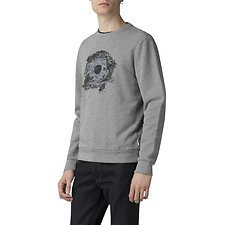 Picture of PSYCHEDELIC FLORAL TARGET SWEAT