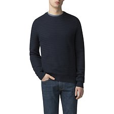 Picture of TEXTURED CREW NECK