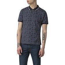 Picture of MICRO FLORAL PRINT POLO