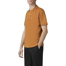Picture of HONEY COMB JACQUARD COLLAR POLO
