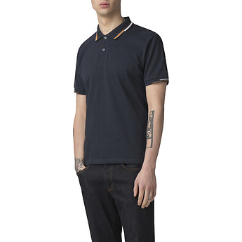 Image of Ben Sherman Australia  STOP START PLACED TIPPING POLO