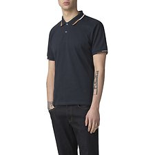 Image of Ben Sherman Australia NAVY STOP START PLACED TIPPING POLO