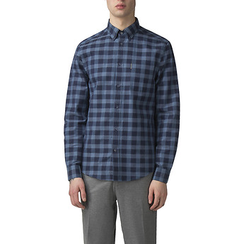 Image of Ben Sherman Australia  DOBBY CHECK SHIRT