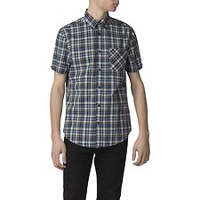 Image of Ben Sherman Australia CHOCOLATE MULTICOLOUR CHECK SHIRT