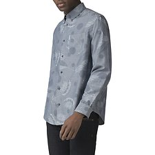 Image of Ben Sherman Australia DARK NAVY TROPICAL SPOT SHIRT