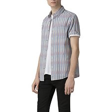 Image of Ben Sherman Australia BRIGHT RED GRADUATED GINGHAM SHIRT