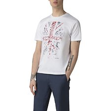 Picture of FLORAL FLAG T-SHIRT