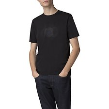Image of Ben Sherman Australia BLACK PINDOT GRAPHIC T-SHIRT