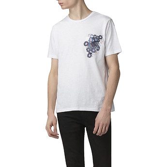 Image of Ben Sherman Australia  PEACOCK POCKET T-SHIRT