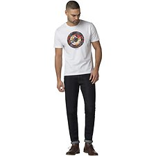 Image of Ben Sherman Australia WHITE HERO TARGET T-SHIRT
