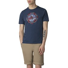 Image of Ben Sherman Australia BLUE HERO TARGET T-SHIRT