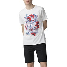 Picture of FLORAL PANEL T-SHIRT