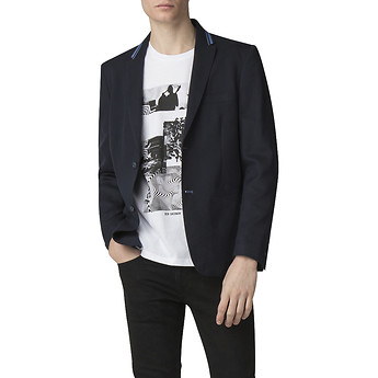 Image of Ben Sherman Australia  TIPPED COLLAR BLAZER