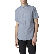 Image of Ben Sherman Australia DARK BLUE MINI HOUSE GINGHAM SHIRT