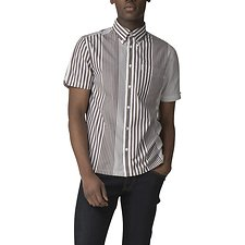 Image of Ben Sherman Australia CHOCOLATE RILEY ARCHIVE SHIRT