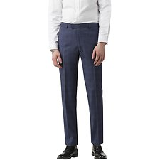 Image of Ben Sherman Australia BLUE SAPPHIRE CHECK TROUSER