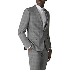 Image of Ben Sherman Australia GREY WITH OVERCHECK JACKET