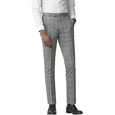 Image of Ben Sherman Australia GREY WITH OVERCHECK TROUSER