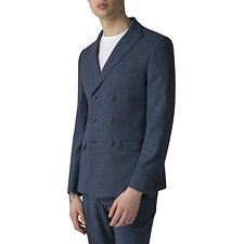 Image of Ben Sherman Australia BLUE SUMMER FLECK JACKET