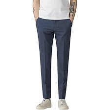 Image of Ben Sherman Australia BLUE SUMMER FLECK TROUSER