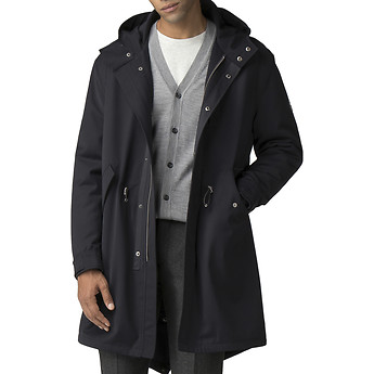 Image of Ben Sherman Australia  FISHTAIL PARKA