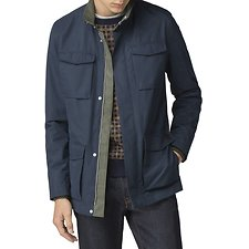 Image of Ben Sherman Australia DARK NAVY FOUR POCKET JACKET