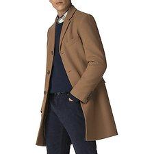 Image of Ben Sherman Australia CAMEL CROMBIE COAT