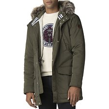 Image of Ben Sherman Australia DARK GREEN WINTER PARKA