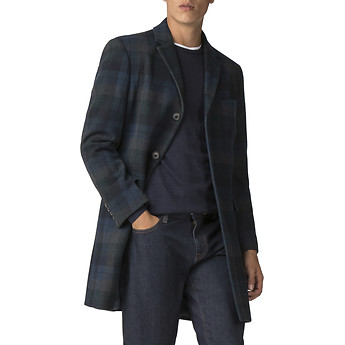 Image of Ben Sherman Australia  STATEMENT CHECK COAT