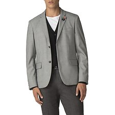 Image of Ben Sherman Australia BLACK WHITE NOISE BLAZER