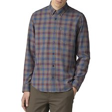 Image of Ben Sherman Australia BURNT ORANGE HERITAGE CHECK SHIRT