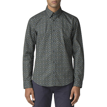 Image of Ben Sherman Australia  MULTICOLOUR FLORAL SHIRT
