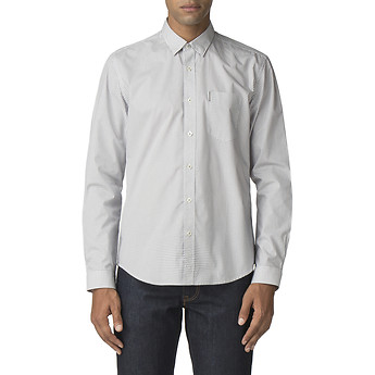 Image of Ben Sherman Australia  SKETCHED MICRO SHIRT
