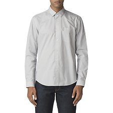 Image of Ben Sherman Australia OFF WHITE SKETCHED MICRO SHIRT