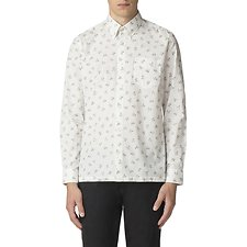 Image of Ben Sherman Australia WHITE ARCHIVE CASINO SHIRT