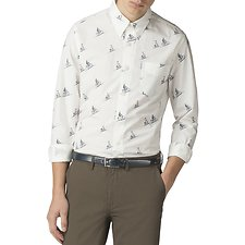 Image of Ben Sherman Australia WHITE ARCHIVE ARTHUR SHIRT