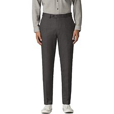 Image of Ben Sherman Australia DARK GREY HERRINGBONE TROUSER