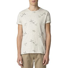 Image of Ben Sherman Australia OFF WHITE DUCK AOP T-SHIRT