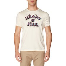 Image of Ben Sherman Australia BEIGE HEART OF SOUL T-SHIRT