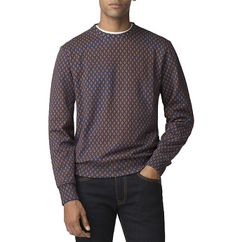 Image of Ben Sherman Australia  GEO PRINTED SWEATER