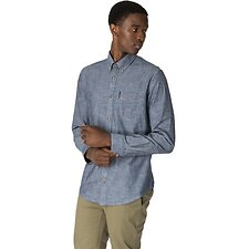 Image of Ben Sherman Australia DARK NAVY CHAMBRAY SHIRT