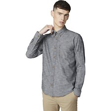 Image of Ben Sherman Australia BLACK CHAMBRAY SHIRT