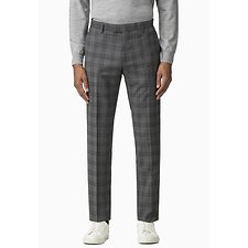 Image of Ben Sherman Australia GREY COOL GREY/BLUE CHECK TROUSER