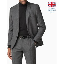 Image of Ben Sherman Australia CHARCOAL BRITISH CHARCOAL DONEGAL JACKET