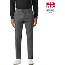 Image of Ben Sherman Australia CHARCOAL BRITISH CHARCOAL DONEGAL TROUSER